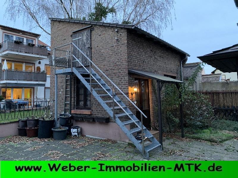 Immobilienmakler in Kriftel FREISTEH. 1-2 FH mit Nebengebäuden in BEST-Lage in Schwanheim, KEINE Erbpacht