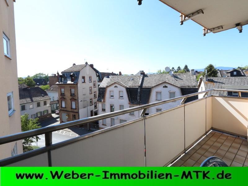 Immobilienmakler in Kriftel KOMPLETT möblierte 2 ZKB in FFM-Unterliederbach mit SONNEN-Balkon und TG-Stellplatz