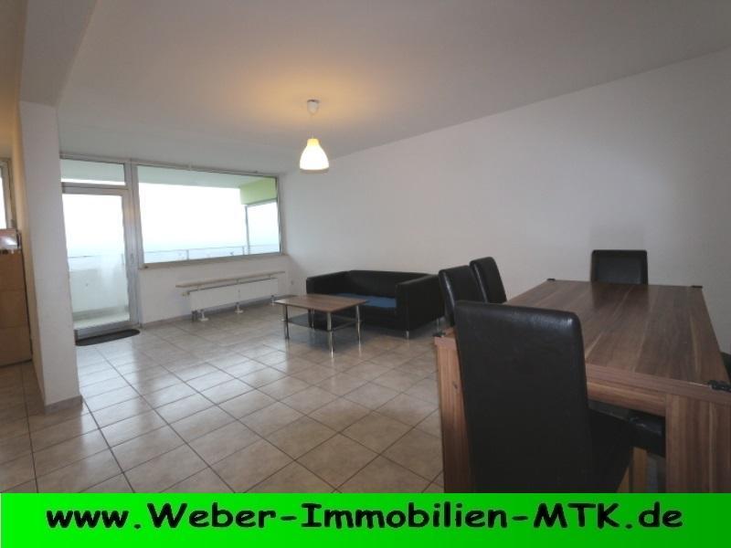 Immobilienmakler in Kriftel Teil-MÖBLIERTE 3 ZKB mit Balkon, innenliegendem Wannenbad und TG-Stellplatz